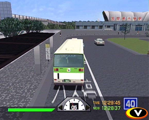 A screenshot from action/adventure game Tokyo Bus Guide.